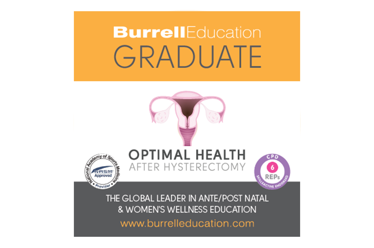 Burrell Optimal Health Graduate Logo