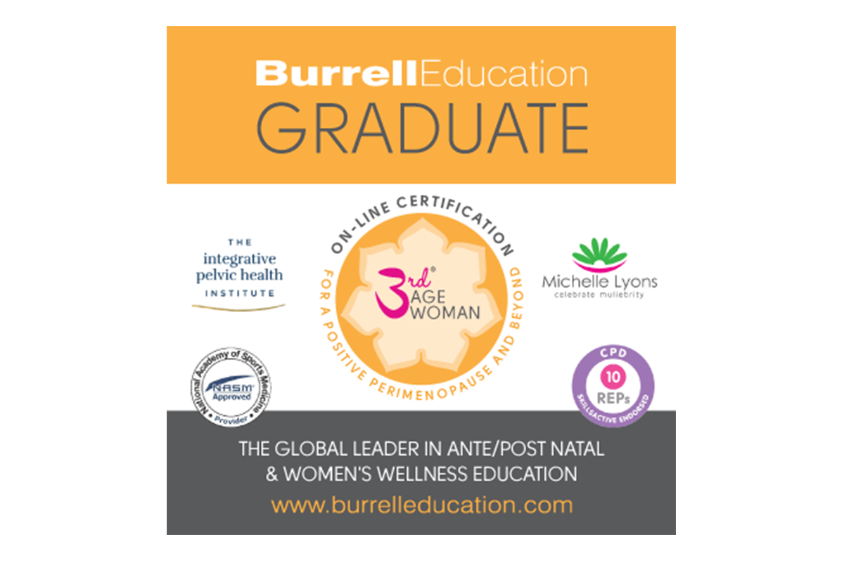 3rd Age Woman Graduate Logo